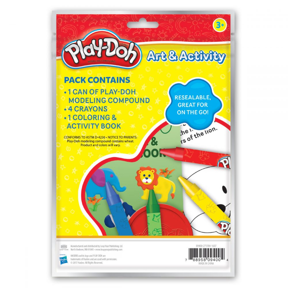 Playdoh Mini Activity Bag