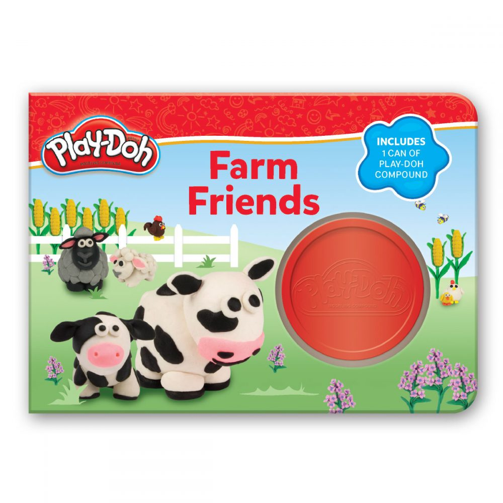 Leap Year Press Playdoh Farm Friends Board Book