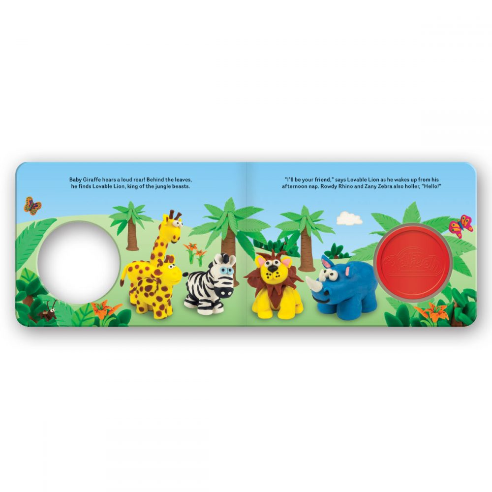 Leap Year Press Playdoh Jungle Friends Board Book