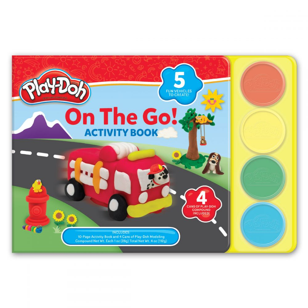 Leap Year Press Playdoh On The Go Jumbo Board Book