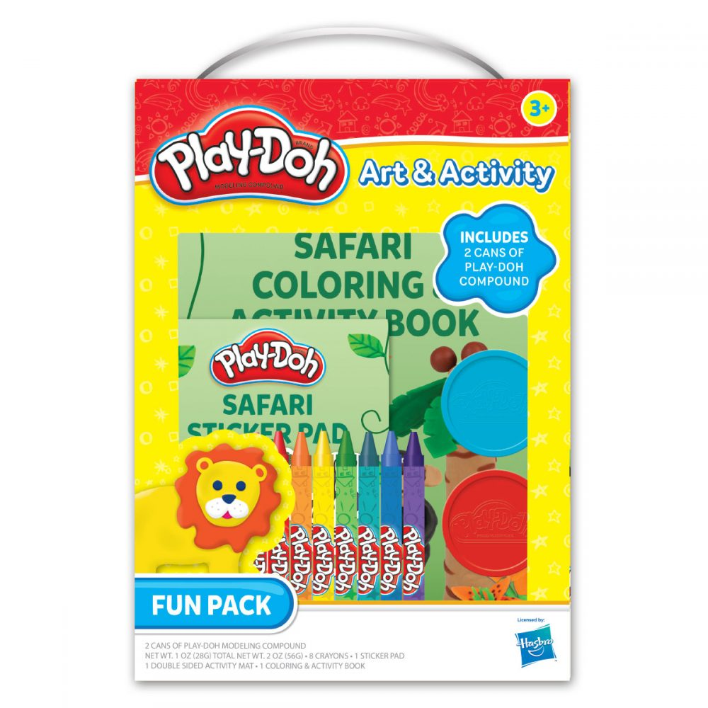 Playdoh Fun Pack With Handle