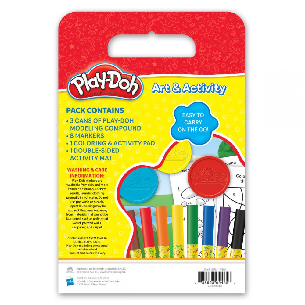 Playdoh Travel Activity Pack