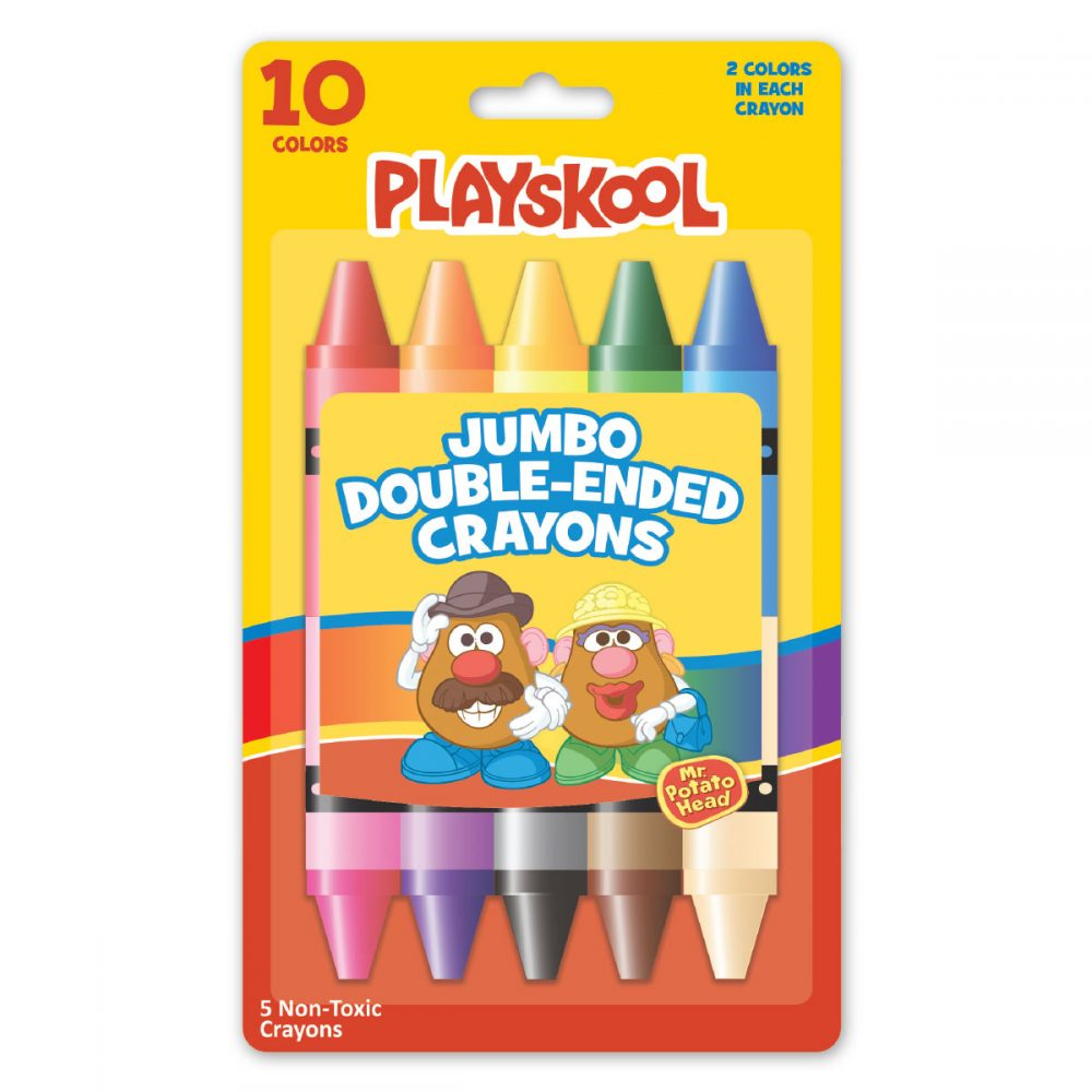 Playskool 5-count Double Ended Crayons