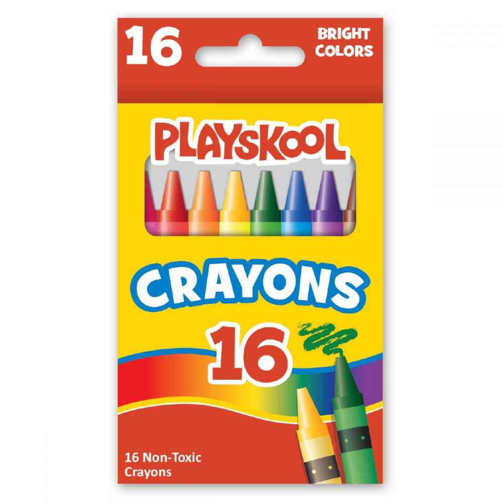 Playskool 16-count Crayons