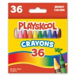 Playskool 36-count Crayons In Display