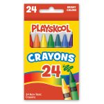Playskool 24-count Crayons
