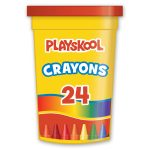 Playskool 24-count Crayons In Tub