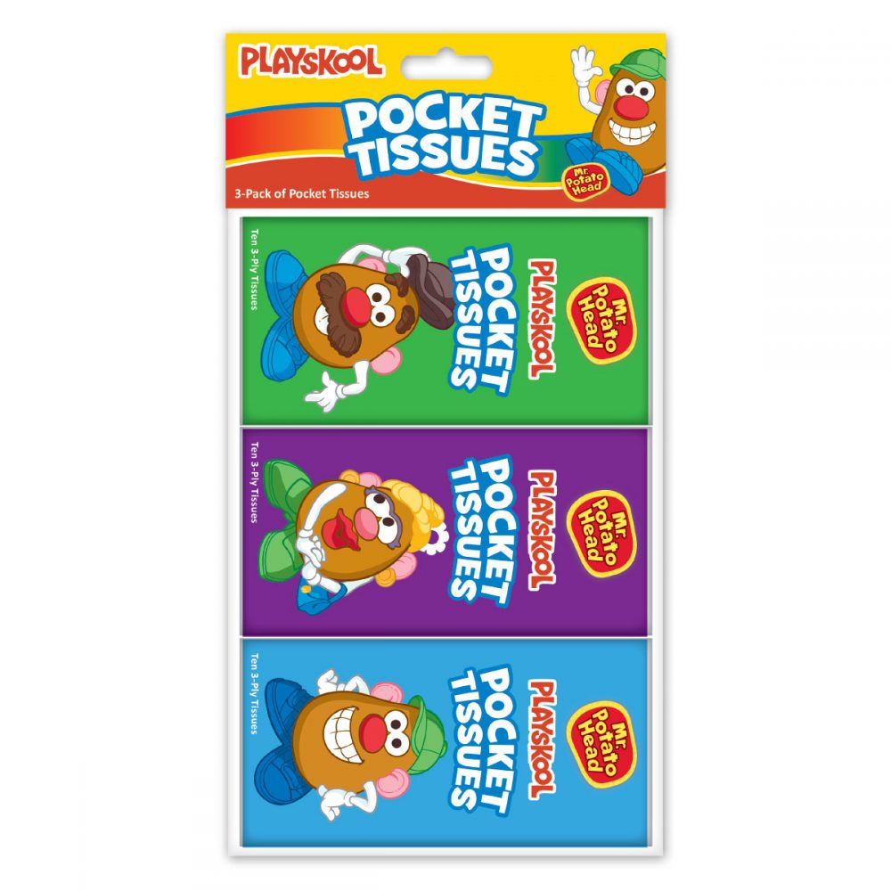 Playskool 3-pack Of Pocket Tissues