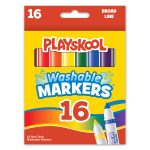 Playskool 16-count Washable Broad Line Markers