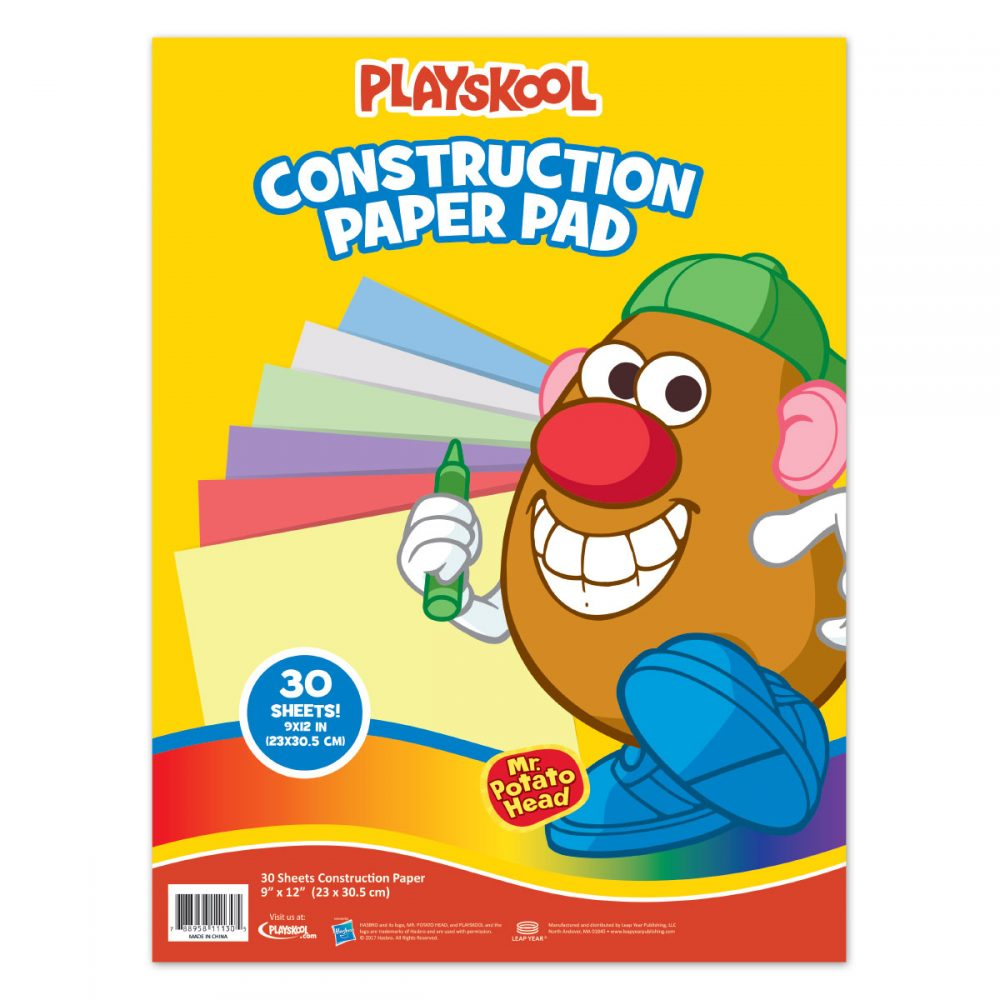 Playskool 30 Sheet Construction Pad