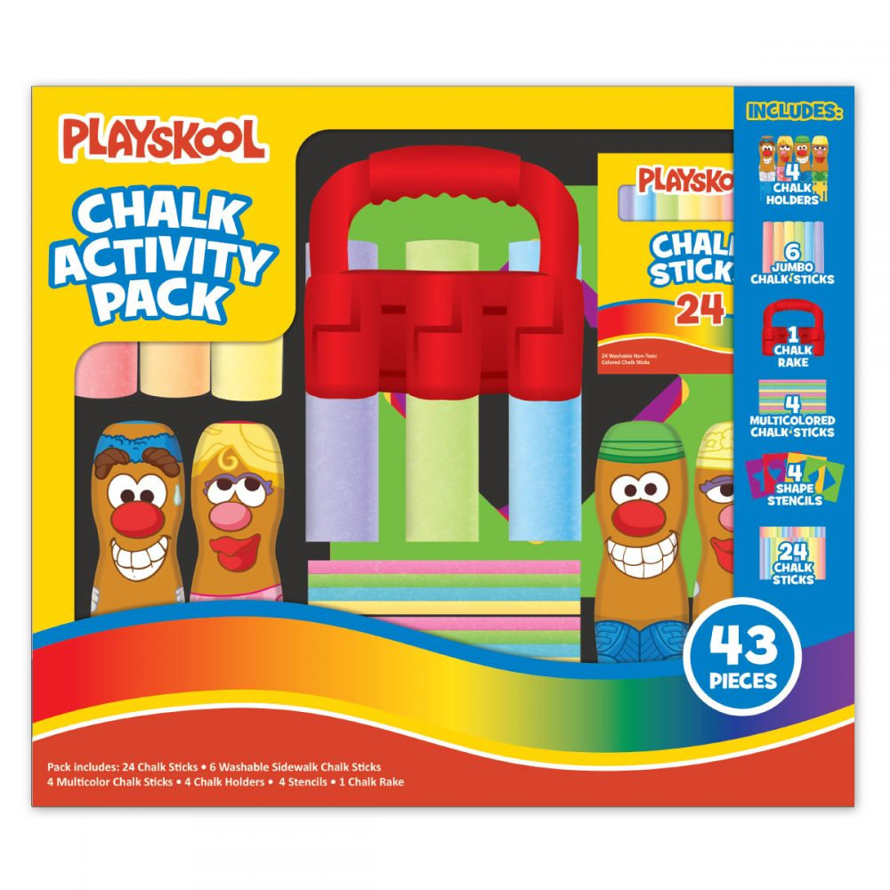 Playskool Chalk Activity Pack