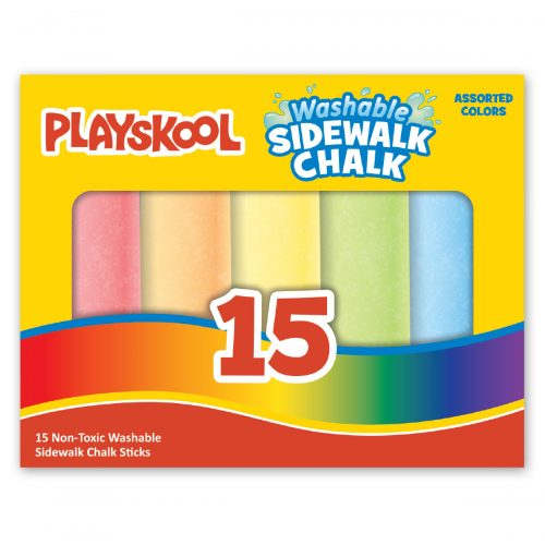 Playskool 15-count Washable Sidewalk Chalk