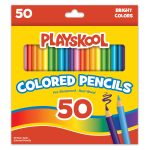 Playskool 50 Count Colored Pencils