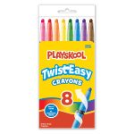 Playskool 8 Count Jumbo Twisteasy Crayons