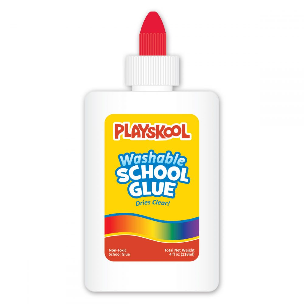 Playskool 4oz Bottle School Glue