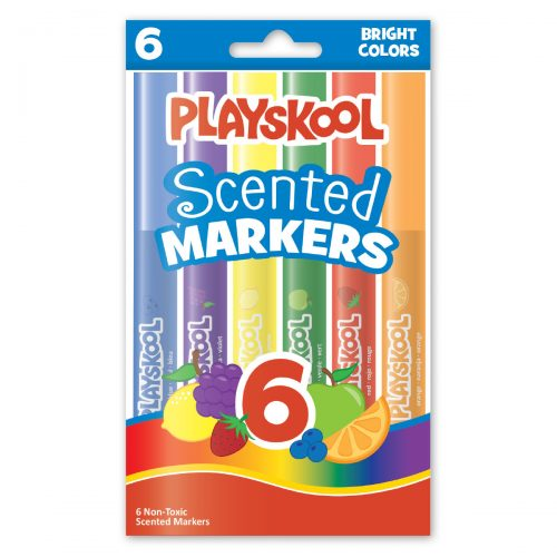 Playskool 6-count Scented Markers
