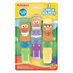Playskool 3 Pack Chalk Holders With Chalk - Mr Potato Head
