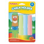 Playskool Chalk Holder With 3 Washable Chalk Sticks Assortment