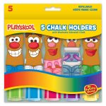 Playskool Mr. Potato Head 5-pack Chalk Holders Set With Washable Chalk