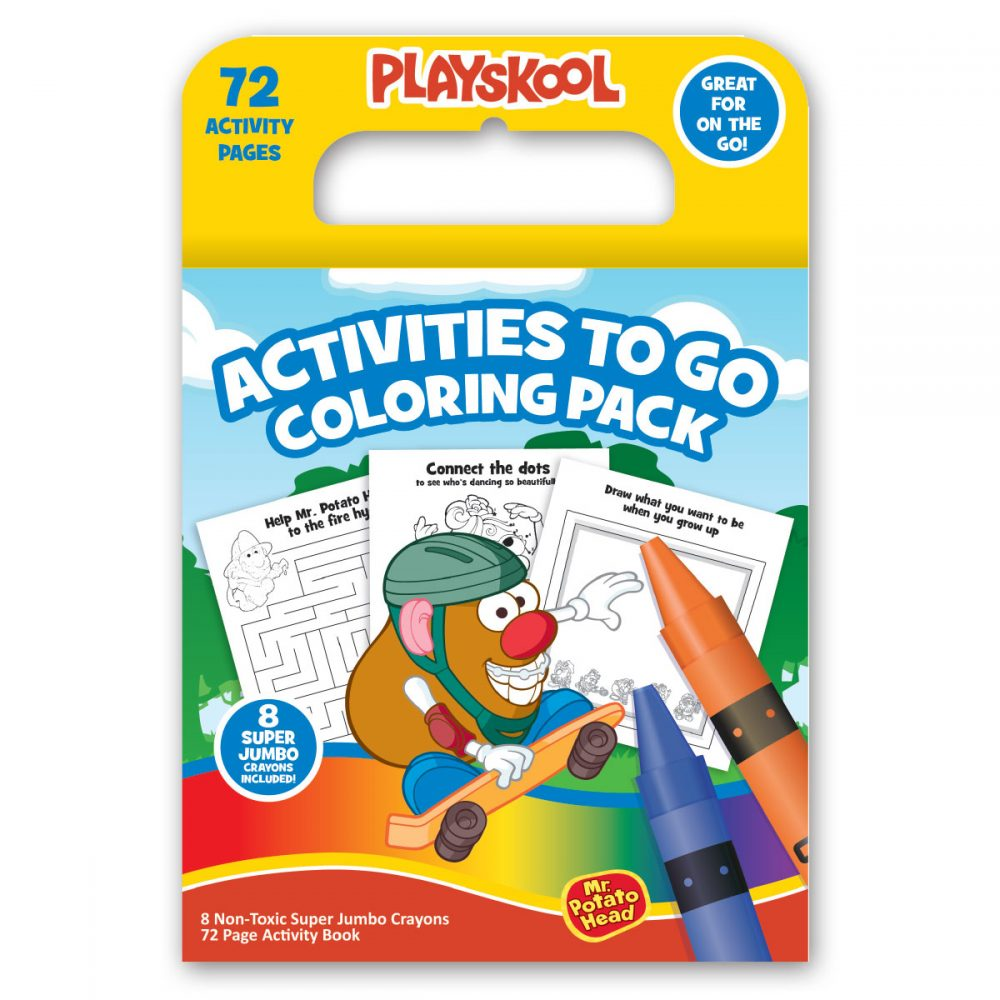 Playskool Activities To-go Coloring Pack
