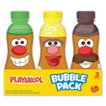 Playskool 3 Pack 8 Oz Bubble Bottles