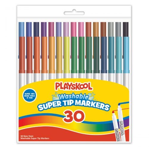 Playskool 30 Count Supertip Markers