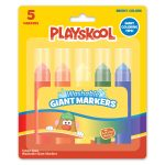 Playskool 5 Count Giant Markers