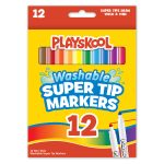 Playskool 12 Count Washable Supertip Markers
