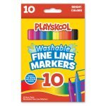 Playskool 10-count Fine Line Markers