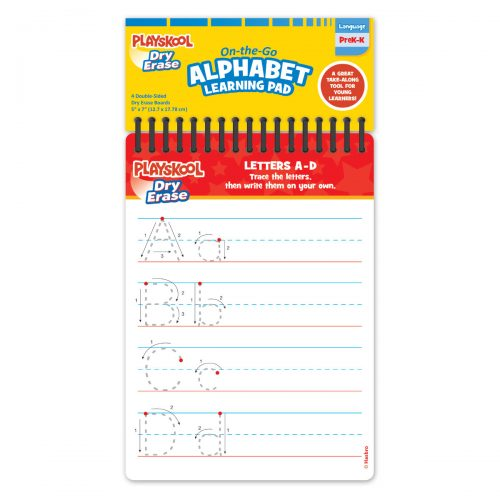 Playskool Dry Erase On The Go Learning Pad