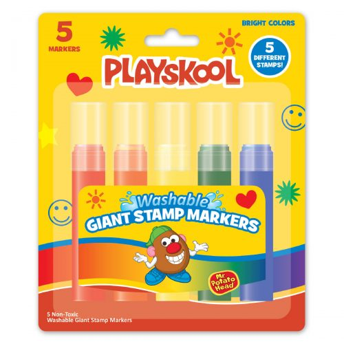 Playskool 5 Count Giant Stamp Markers