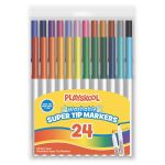 Playskool 24-count Washable Super Tip Markers