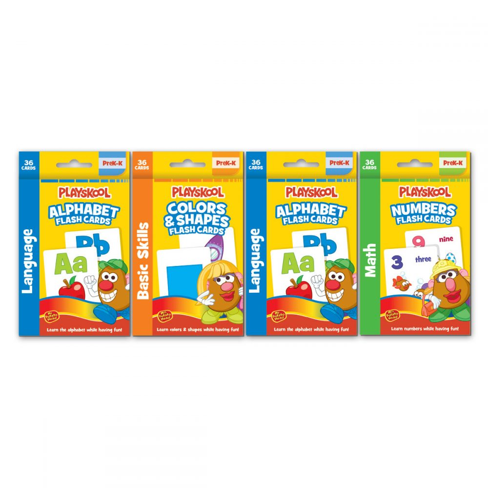 Playskool 4 Pk Flash Cards