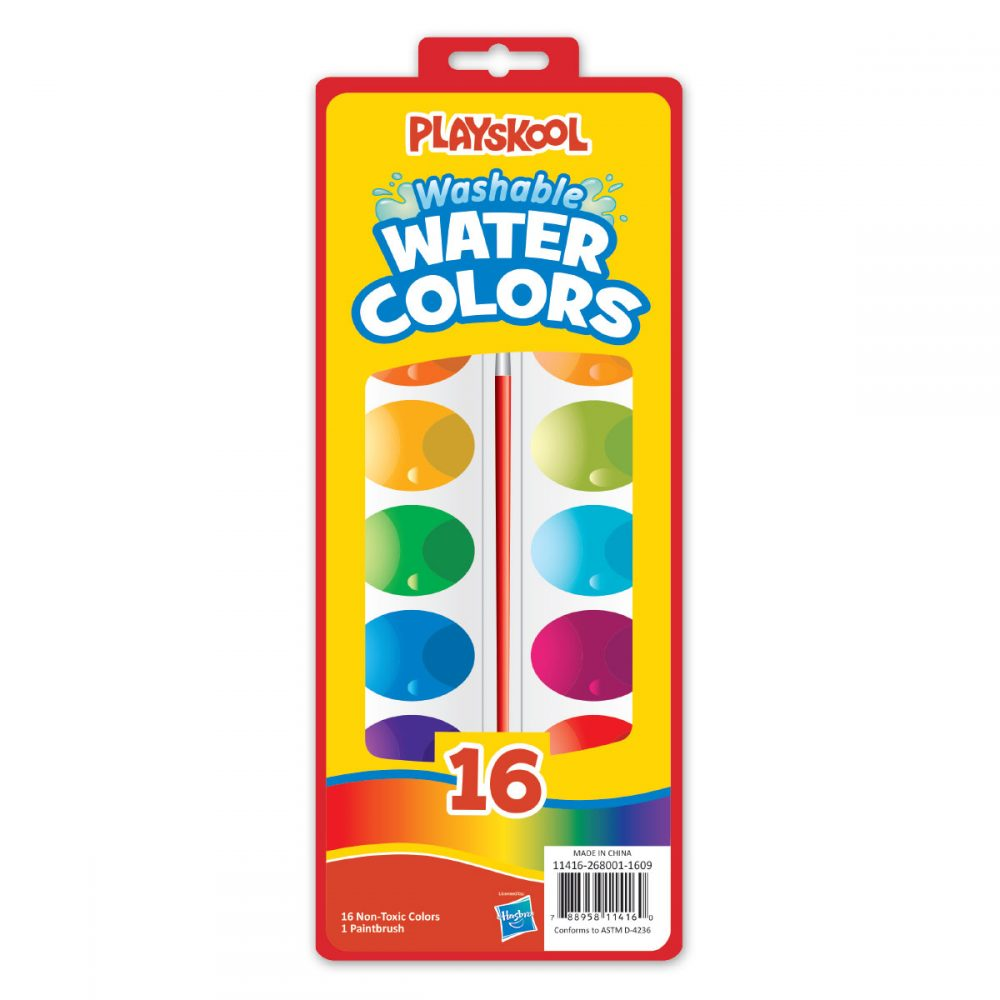Playskool 16 Count Washable Paint Set