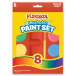 Playskool 8-count Large Washable Watercolors Paint Set