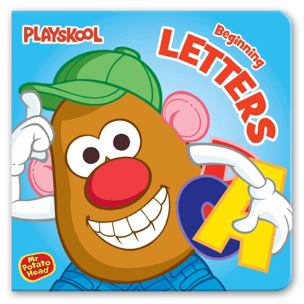 Leap Year Press Playskool Letters Early Learning Board Book