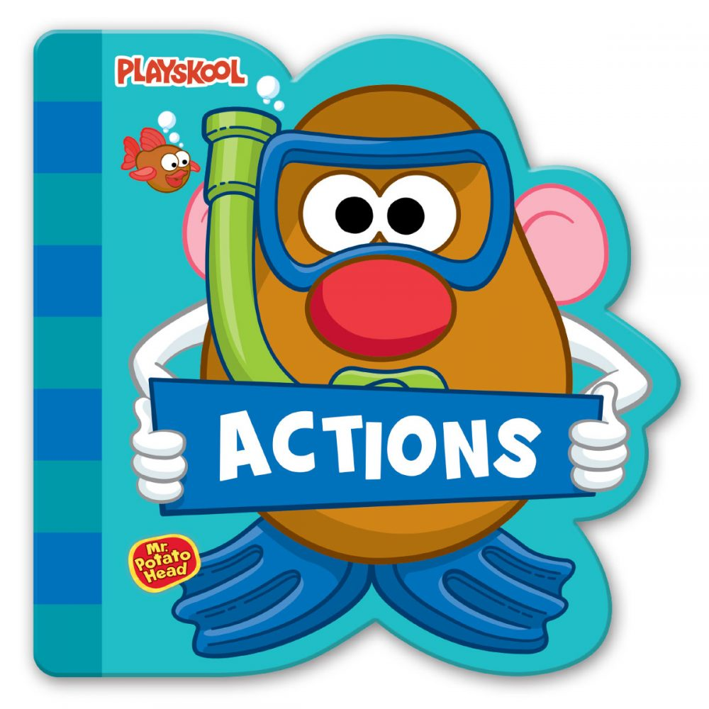 Leap Year Press Playskool Actions Early Learning Board Book