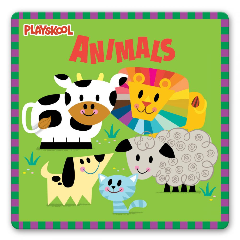 Leap Year Press Playskool Animals Early Learning Board Book