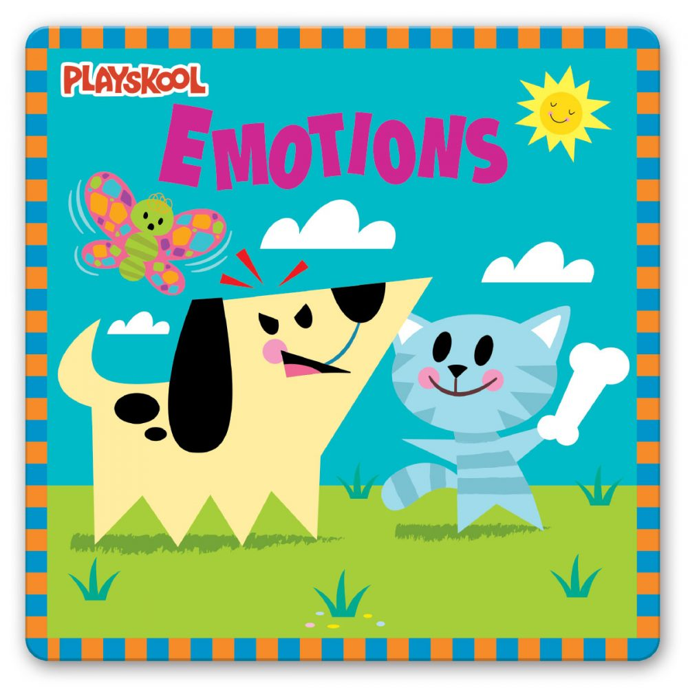 Leap Year Press Playskool Emotions Early Learning Board Book