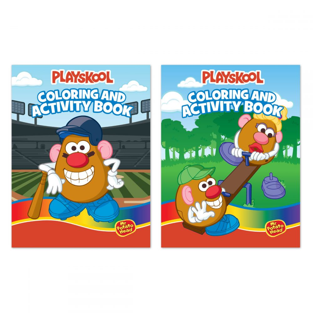 Playskool Coloring & Activity Book
