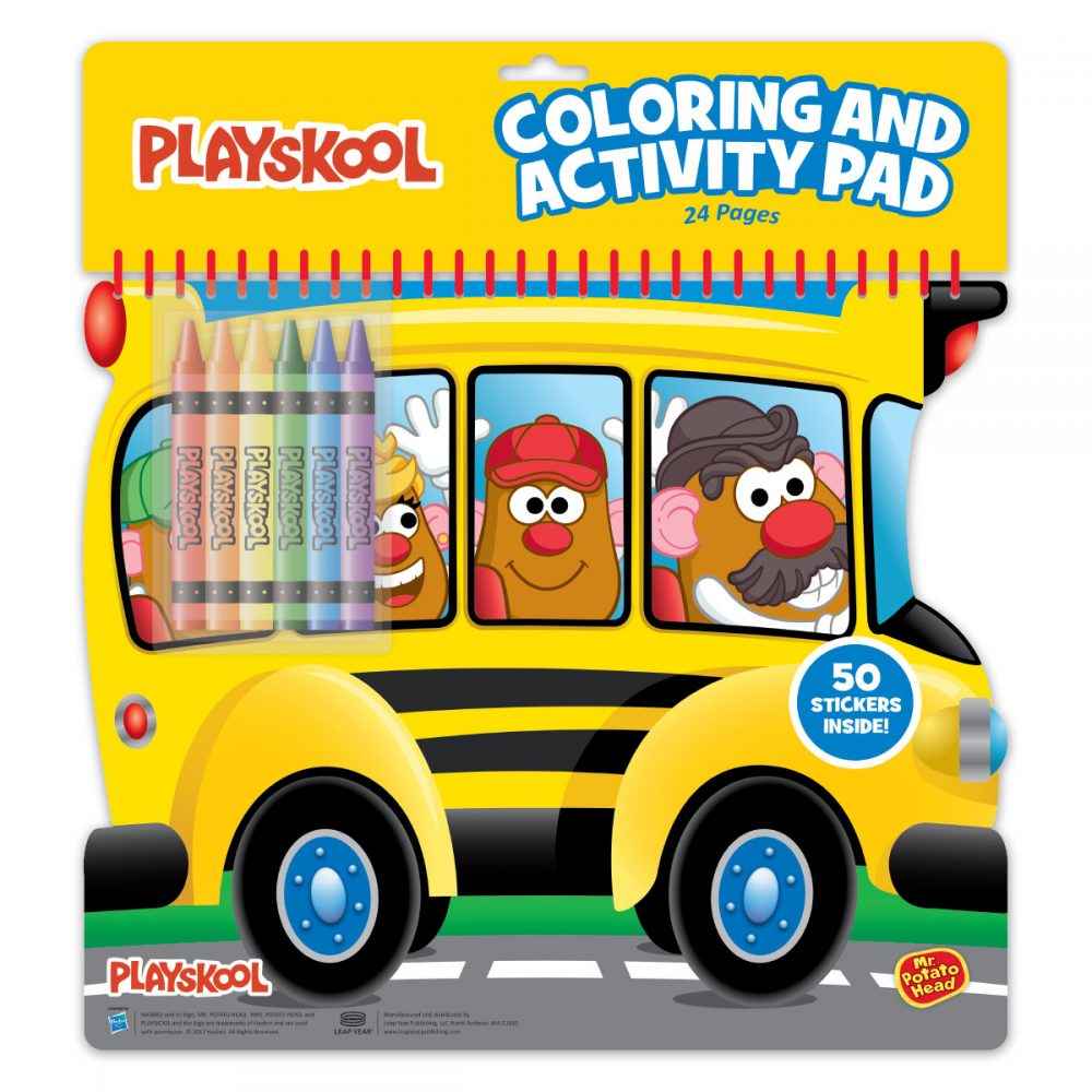 Playskool Diecut Coloring And Activity Pad Assortment