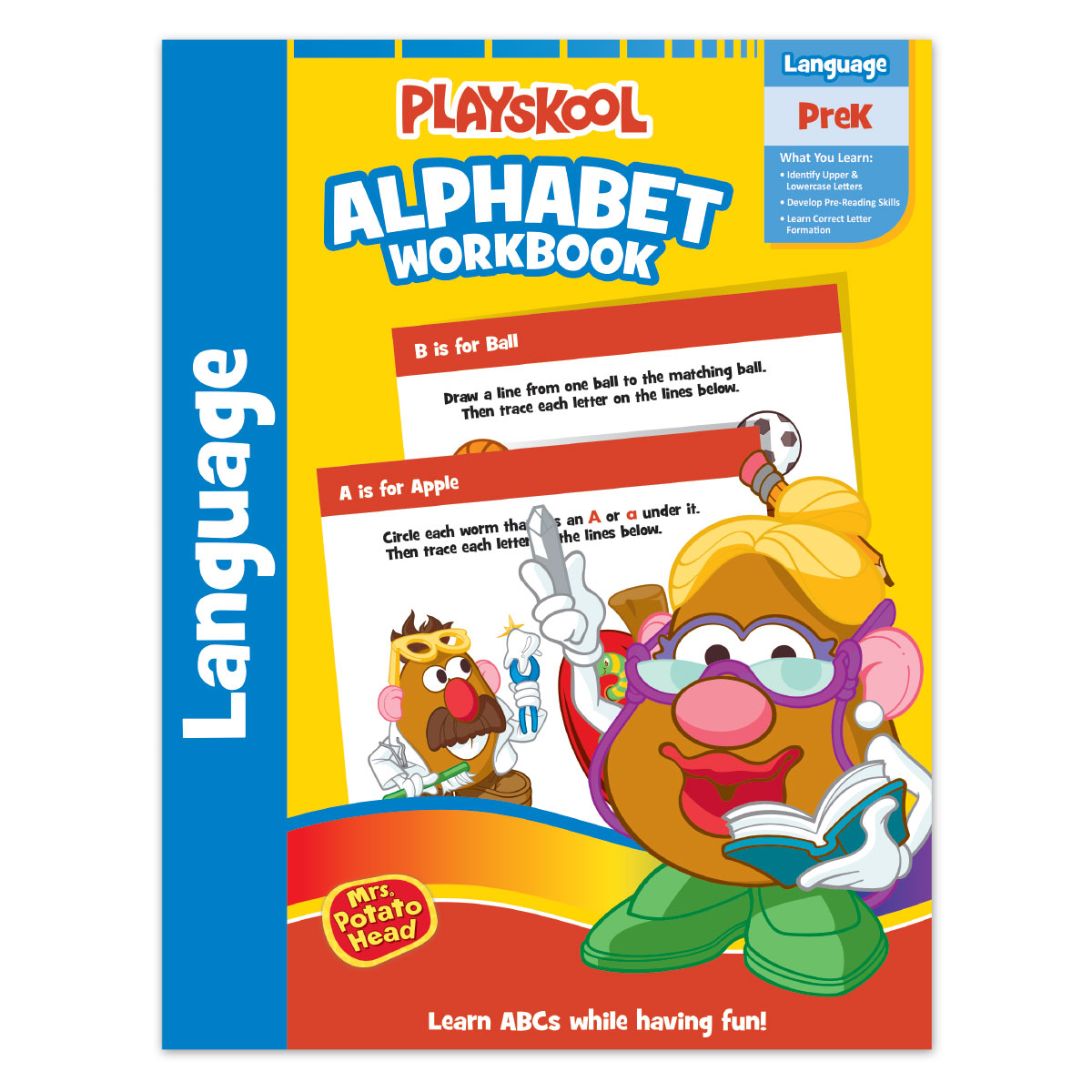 Workbooks prek workbooks : Playskool 32pg Pre-k Workbook Assortment | Leap Year Publishing