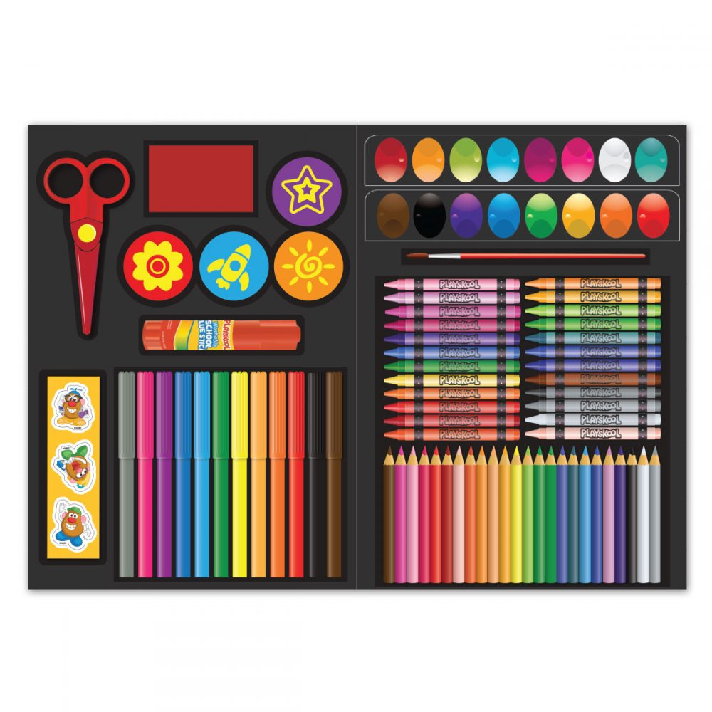 Playskool Art Supplies Set