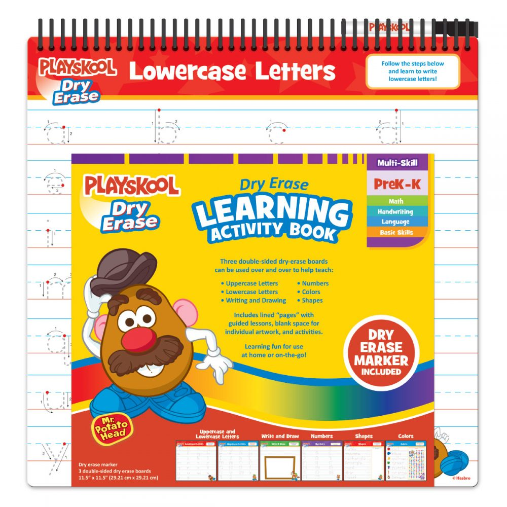 Playskool Dry Erase Learning Activity Book