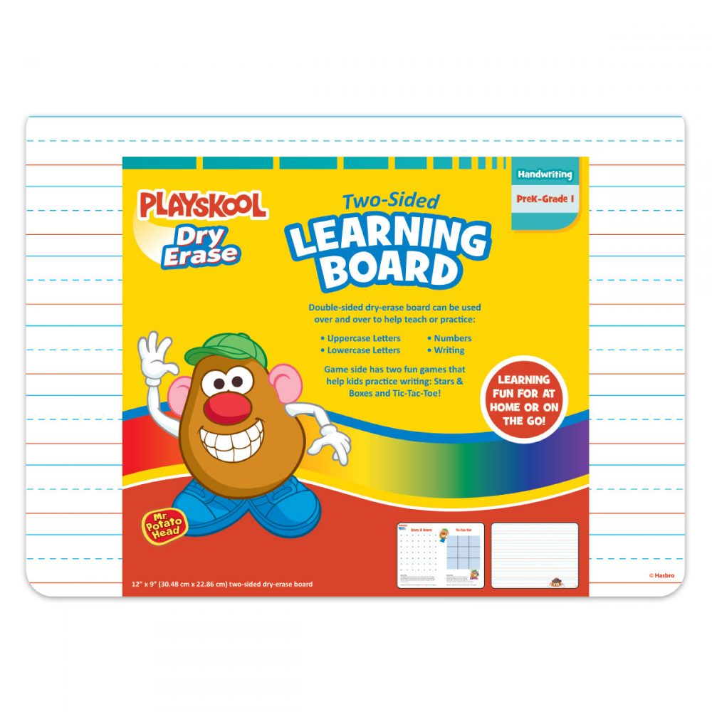 Playskool Dry Erase Two-sided Learning Board