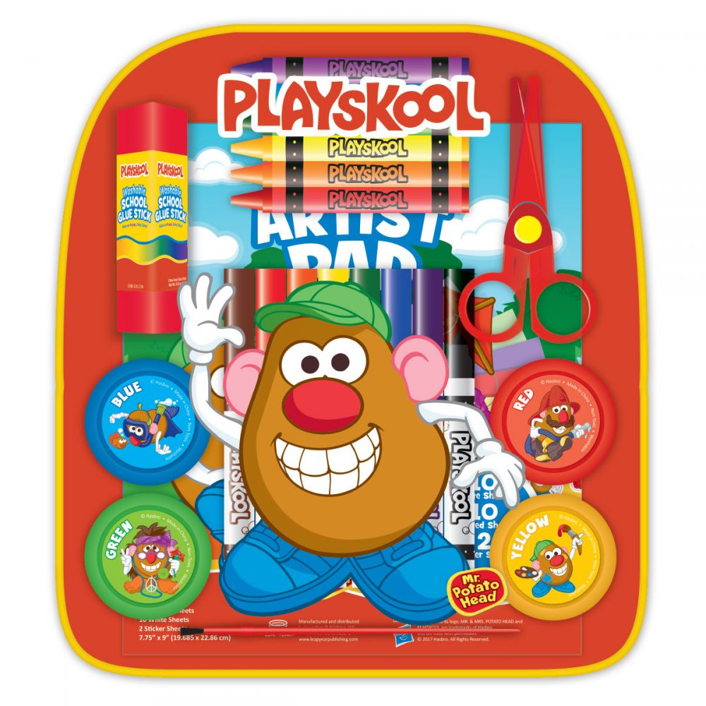 Playskool School Art & Activity Back Pack