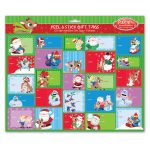 Rudolph 125-count Peel & Stick Gift Tags Booklet