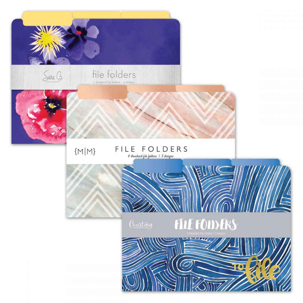Paperworks 6-pack File Folder Set Assortment