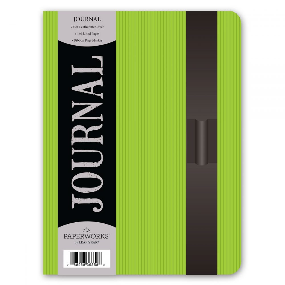 Paperworks Pinstripe Leatherette Journal Assortment