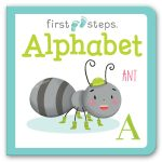Leap Year Press Alphabet First Steps Board Book